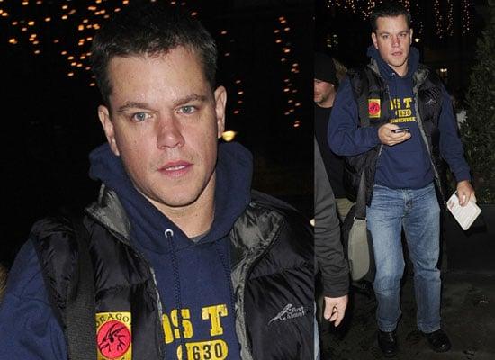 Photos Of Matt Damon Out In Mayfair, London