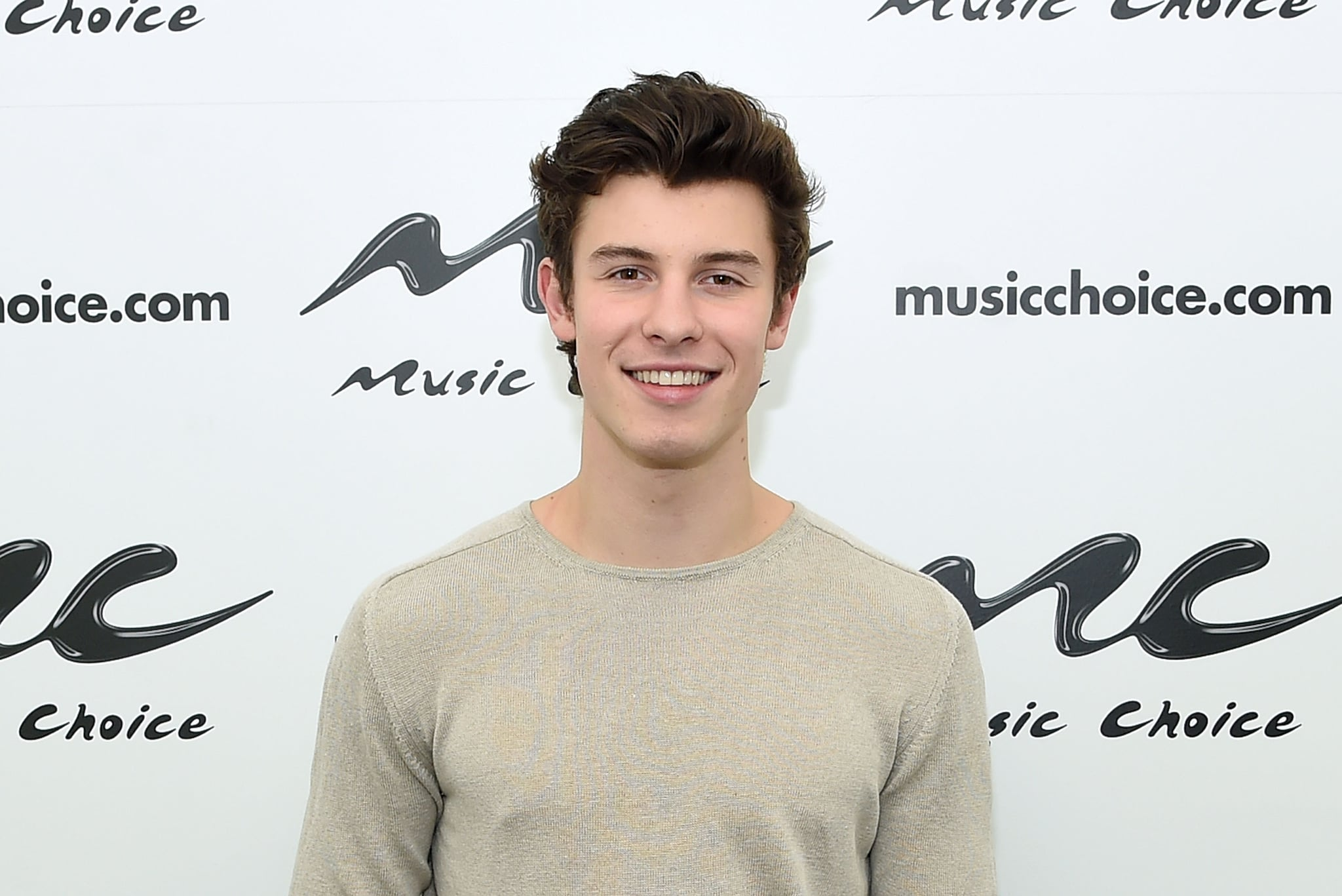 NEW YORK, NY - MARCH 22:  Shawn Mendes visits Music Choice at Music Choice on March 22, 2018 in New York City.  (Photo by Jamie McCarthy/Getty Images)