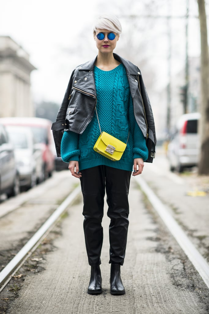 Two brights are better than one.  Source: Le 21ème   Adam Katz Sinding