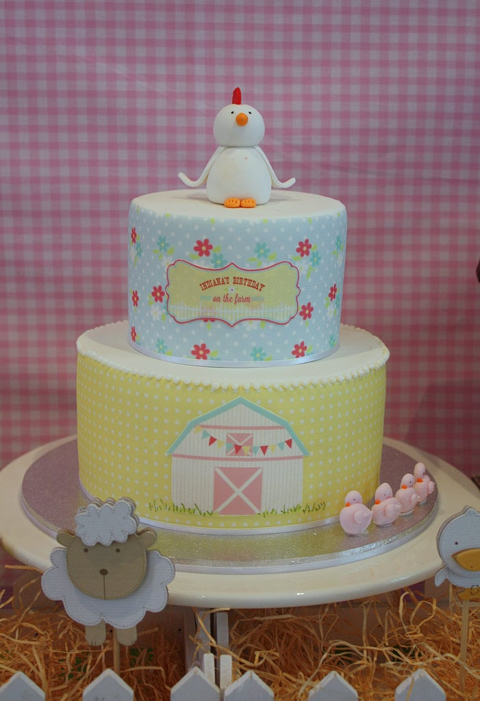 A Barnyard Cake Unique Birthday Cakes For Baby And Toddler