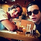 Glee's Chord Overstreet hung out with Diego Boneta, because why not? Source: Instagram user chordover