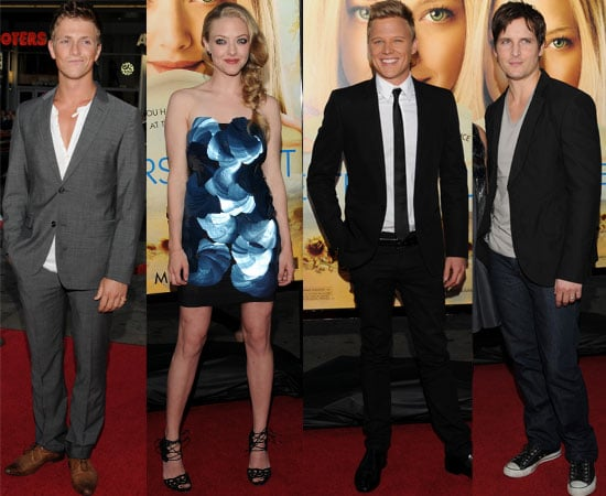 Pictures of Amanda Seyfried and Peter Facinelli at the Letters to Juliet Premiere