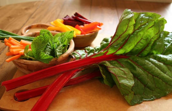 Veggie Chard Wraps With Ginger Dipping Sauce