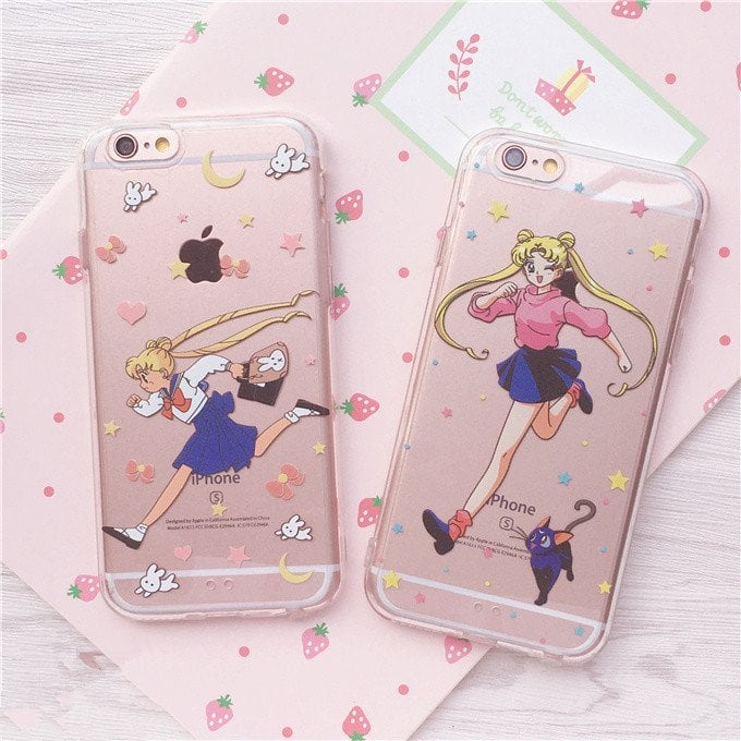 Sailor Moon Transparent iPhone Case ($10)