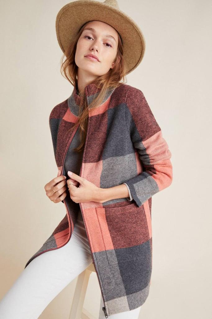 Felicity Wool Sweater Coat