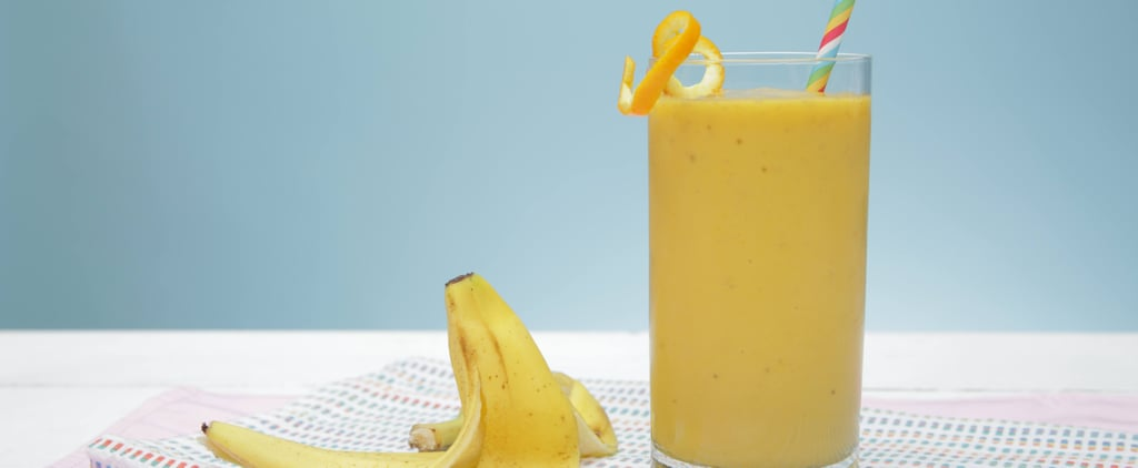 Don't Toss That Banana Peel! Add It to Your Smoothie