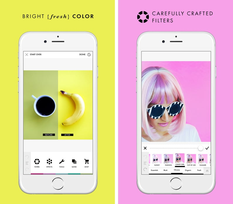 تطبيق A Color Story