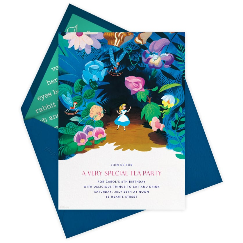 Disney Paperless Post Party Invitations | POPSUGAR Home