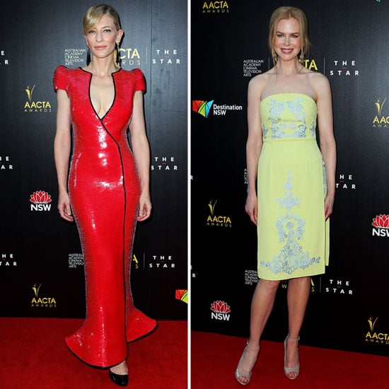 Cate Blanchett Red Dress at AACTA Awards | Pictures