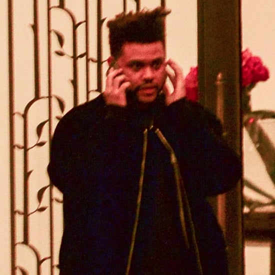 The Weeknd Leaving Bella Hadid's NYC Apartment November 2017