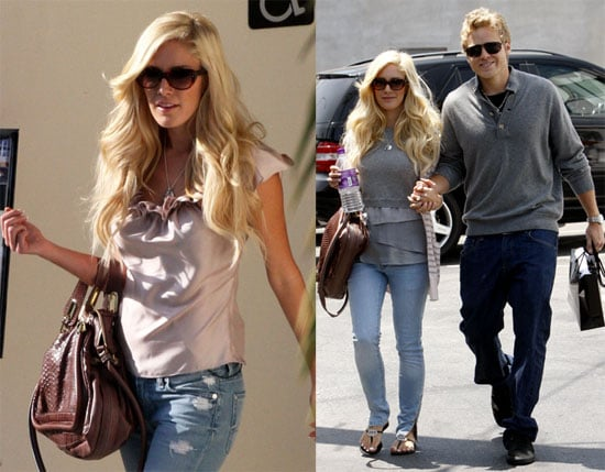 Photos of Heidi Montag and Spencer Pratt Shopping at Louis Vuitton in LA