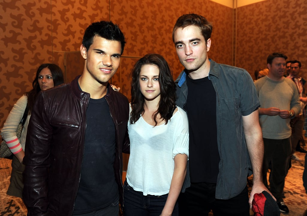 Robert Pattinson, Kristen Stewart, and Taylor Lautner Pictures at Comic-Con