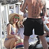 Ellie Goulding With Mystery Man in France July 2016