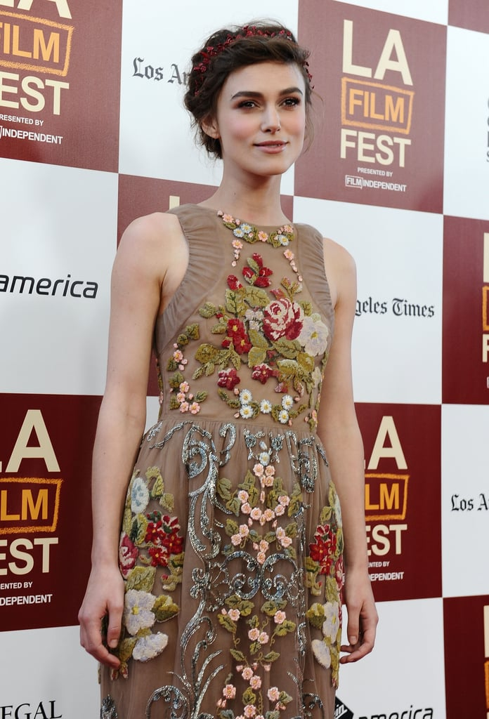Keira Knightley attended the LA premiere of Seeking a Friend For the End of the World.