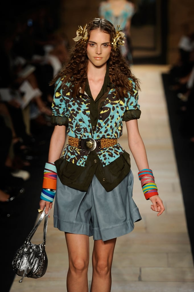 New York Fashion Week: Diane Von Furstenberg Spring 2010