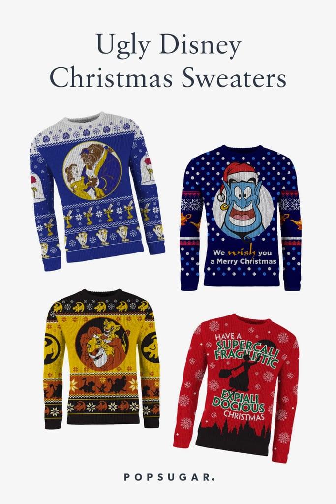 Ugly Disney Christmas Sweaters