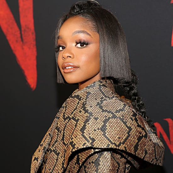 Marsai Martin Blunt Bob Haircut at the Mulan Premiere