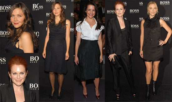 Beautiful Ladies in Black for Hugo Boss