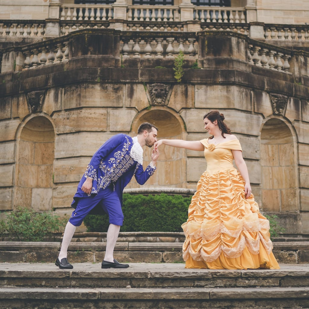 4b22f1cc093 Beauty and the Beast Themed Wedding