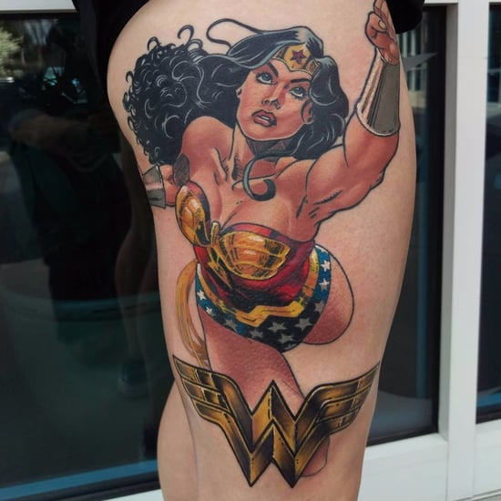 Wonder Woman Tattoos