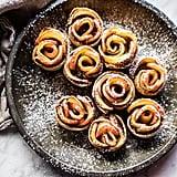 Mini Pecan Butter Apple Rose Tarts