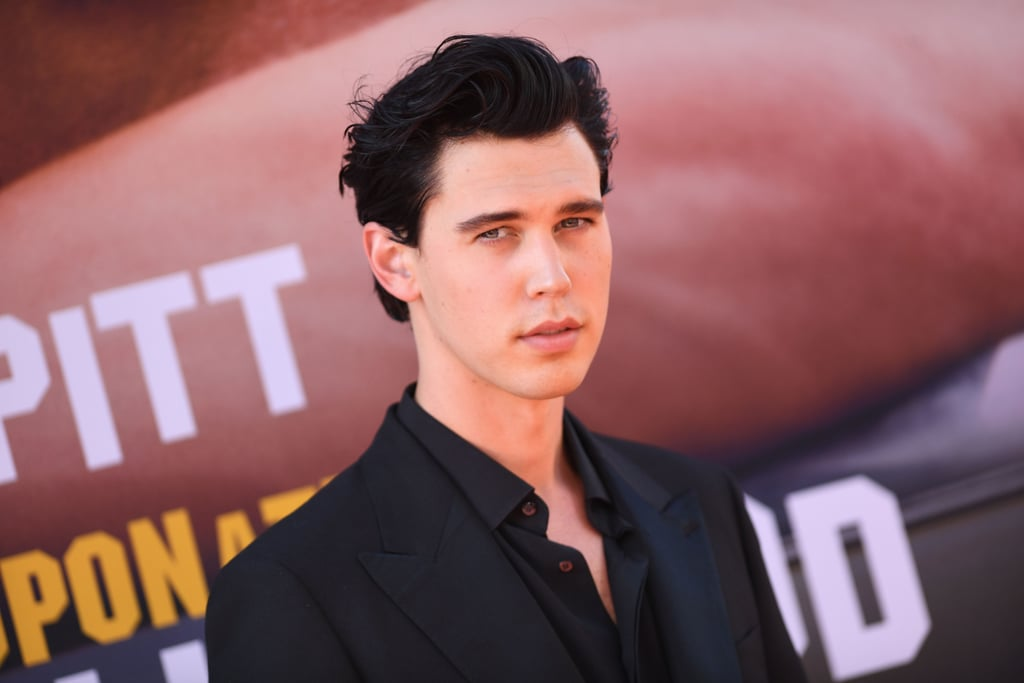Austin Butler at the Once Upon a Time in Hollywood premiere.