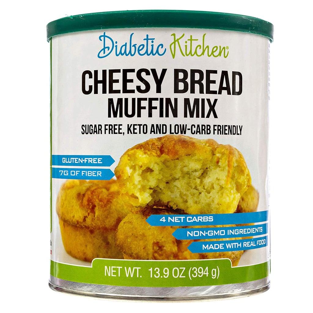 Diabetic Kitchen Cheesy Bread Muffin Mix