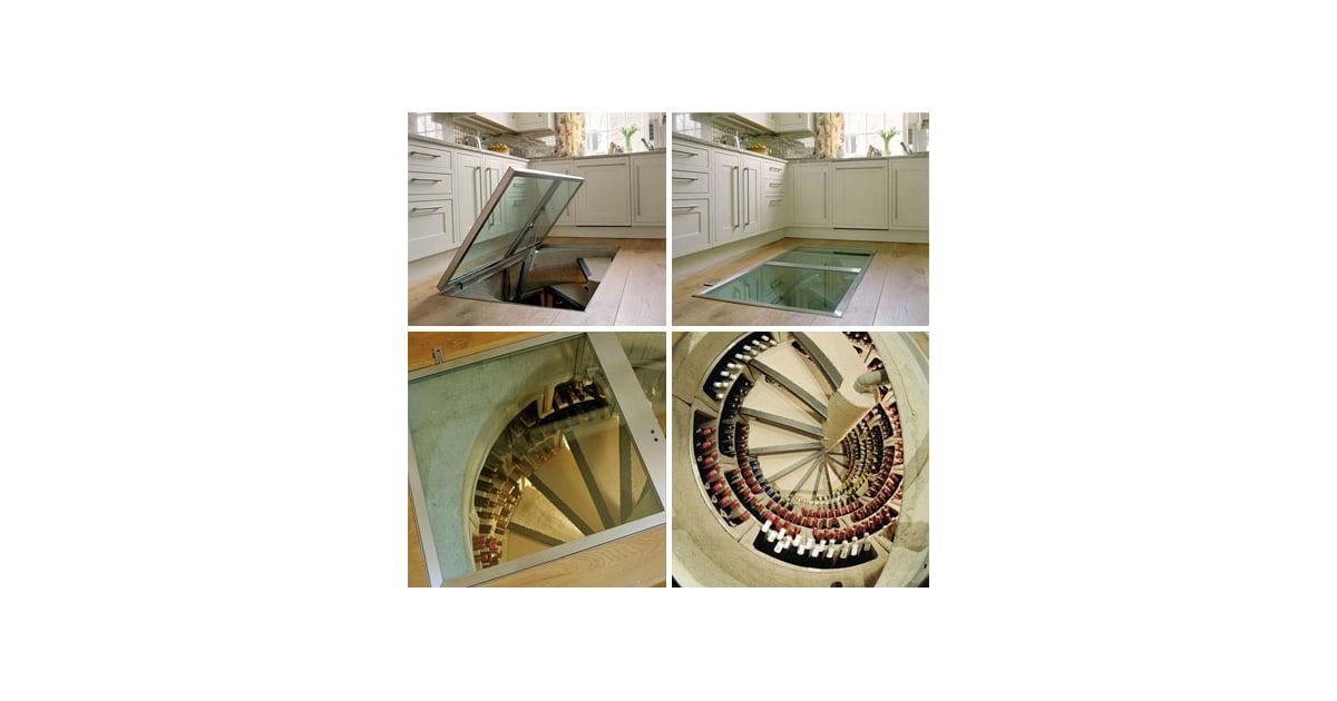 Cool Idea Spiral Wine Cellars Popsugar Home