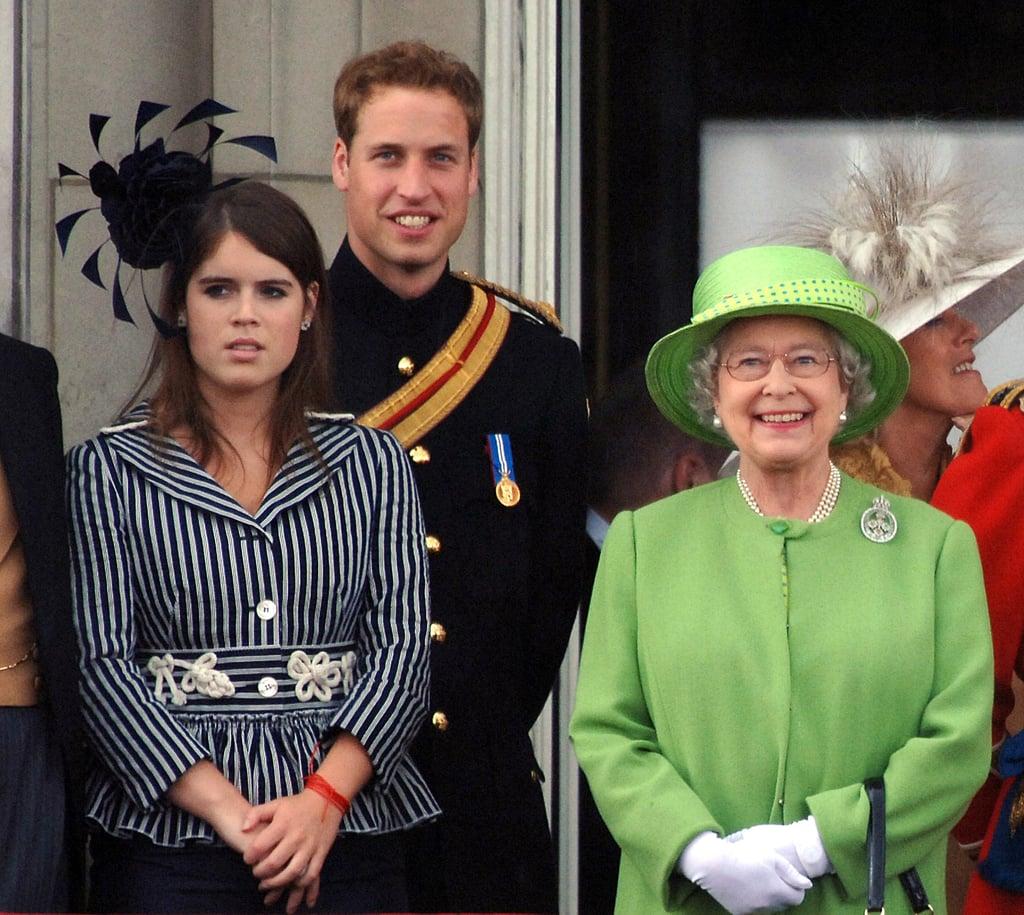 Princess Eugenie and Queen Elizabeth II Pictures
