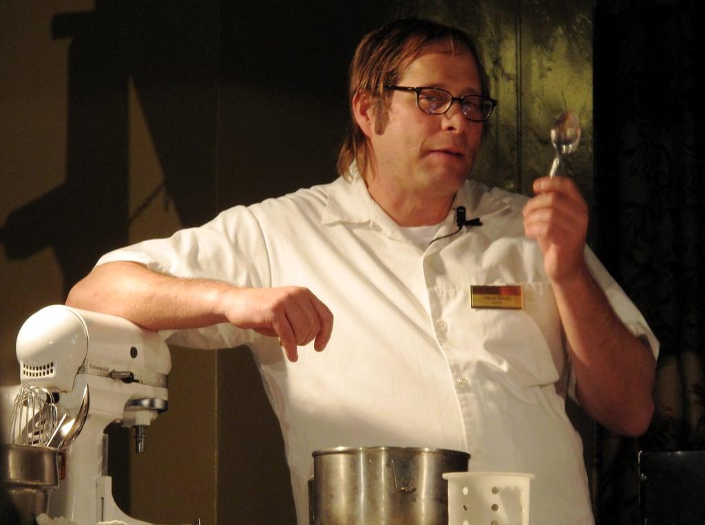 David Kinch at the 2010 Chefs' Holidays at The Ahwahnee Hotel in Yosemite