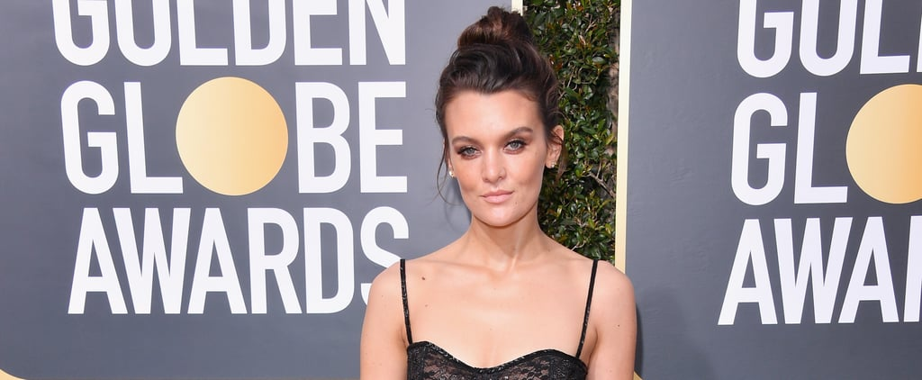 Frankie Shaw Wore Chic Sneakers to the Globes, Because Comfort Over Everything