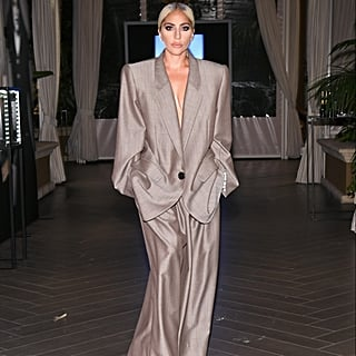 Lady Gaga's Oversize Marc Jacobs Suit October 2018