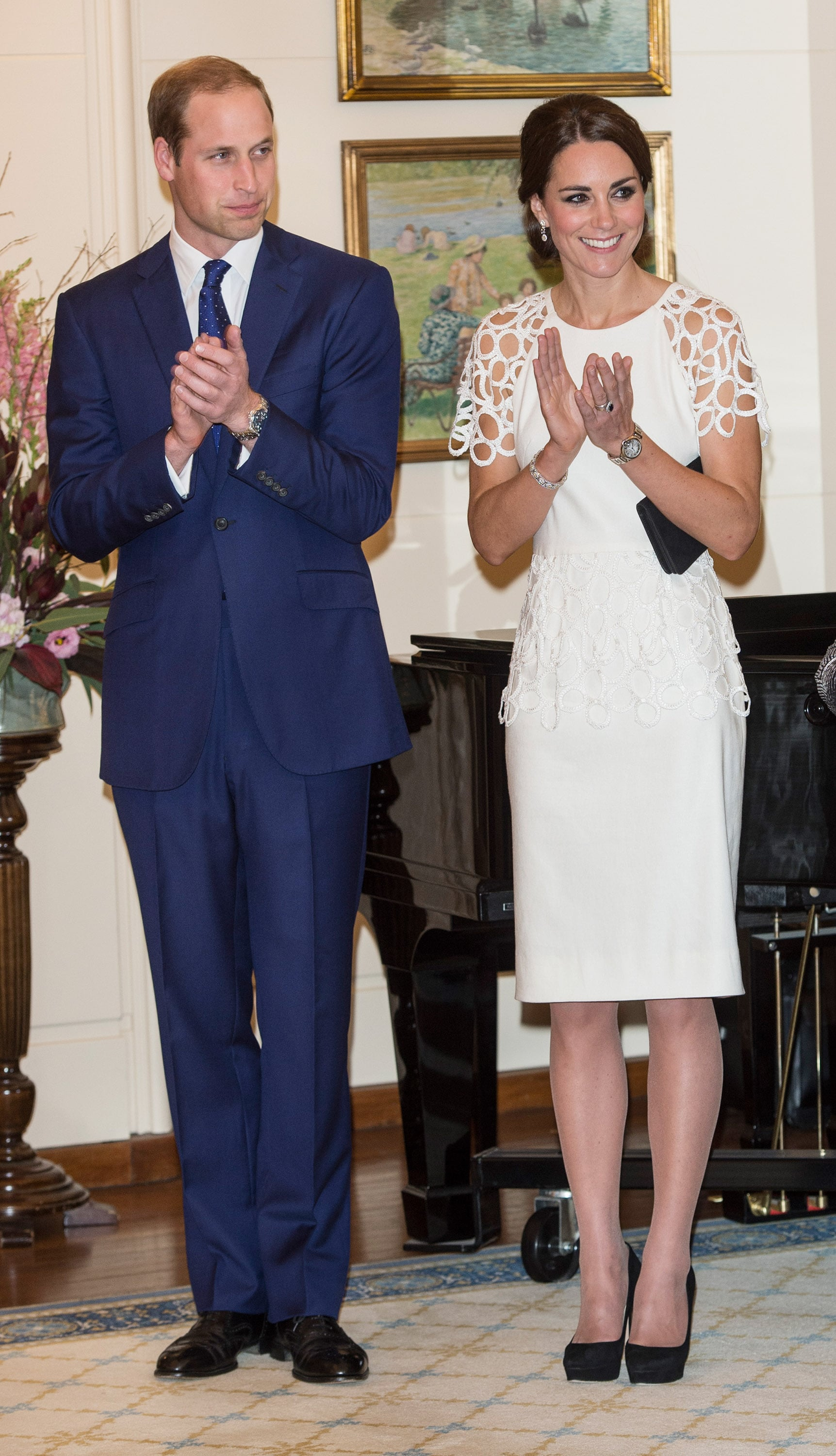 The Royal Couple at at Government House