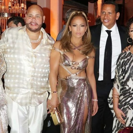 Jennifer Lopez's 50th Birthday Party Dress
