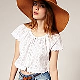 ASOS '70s Floppy Straw Hat ($36)