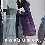 Jennifer Lawrence Gets Back to the Hunger Games Set