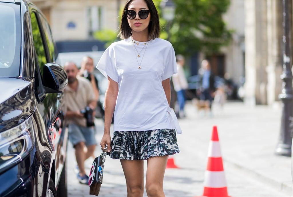 Mini Skirt Outfits   POPSUGAR Fashion
