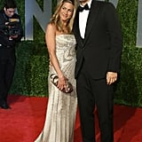 Jennifer Aniston brought John Mayer as her date to the February 2009 Vanity Fair Oscar Party.