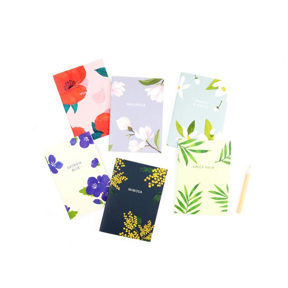 Gracebell Flower Blossom Mini Notebook Set