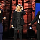 Jon Stuart, Amy Poehler and Tina Fey appeared onstage to raise support for autism research at the Night of To Many Stars benefit in NYC