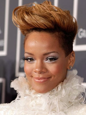 Rihanna at Grammys
