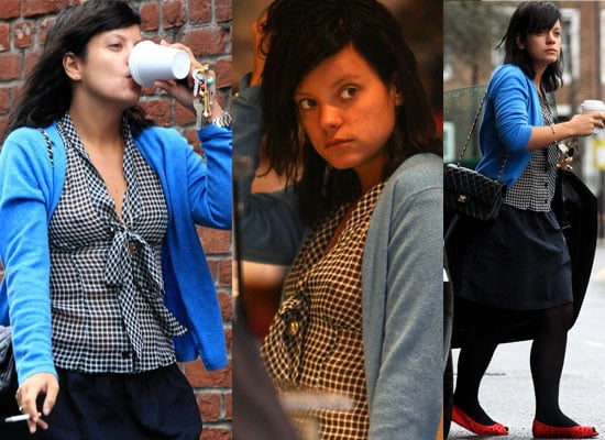 Photos Of Lily Allen Out In London, She Will Guest On Kaiser Chiefs' New Album