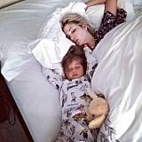 Arabella Rose Kushner snuck into her mom's bed on her birthday morning. Source: Instagram user ivankatrump