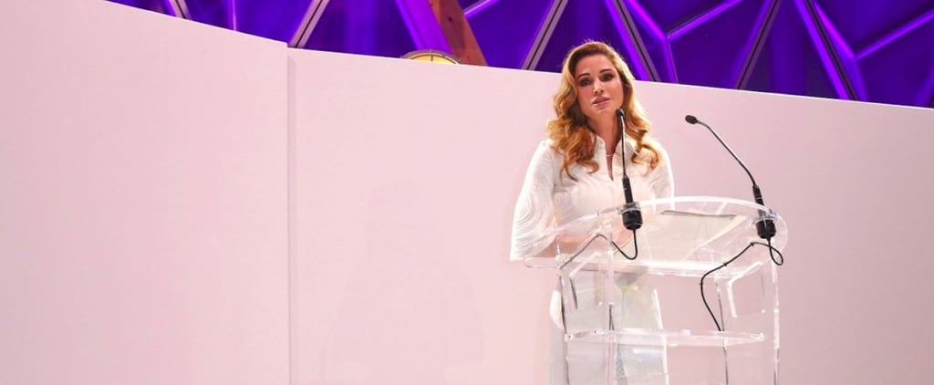 Queen Rania's Humanitarian Efforts Were Recognized in Cannes in a Big Way
