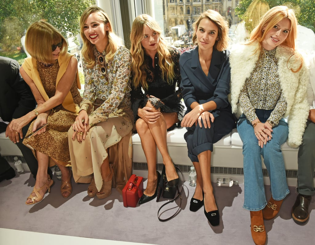 Suki Waterhouse, Cressida Bonas, Alexa Chung, and Bella Thorne