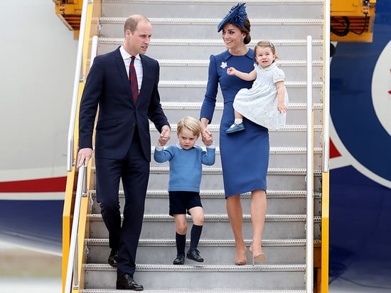 The Royal Fab 4 Take Canada! William, Kate, George and Charlotte Touch Down for Their Big Tour