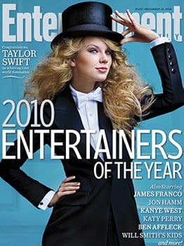 Pop Poll: Taylor Swift Named Entertainer of the Year by Entertainment Weekly—Do You Agree?