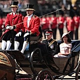 Meghan Markle at Trooping the Colour 2018