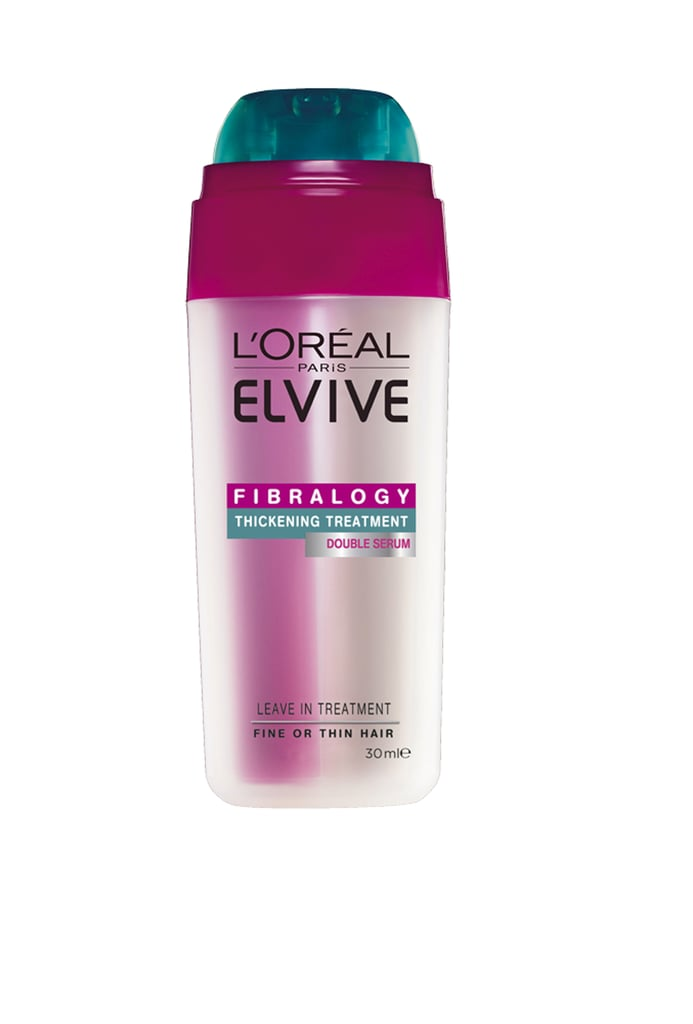 L'Oréal Paris Elvive Fibralogy Double Serum, $9.95