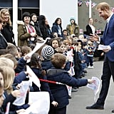 Prince Harry Explaining Meghan Markle's Pregnancy to Kids